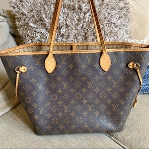 100% Authentic Loui Vuitton MM Neverfull!